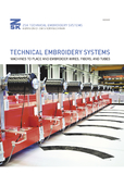 Catalog of ZSK TECHNICAL EMBROIDERY SYSTEMS